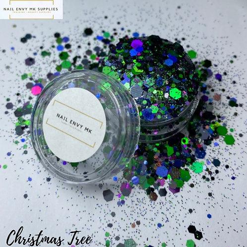 Christmas Tree Glitter
