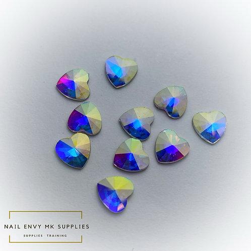 AB Heart Crystals