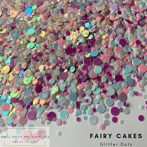 Fairy Cakes Glitter Dots