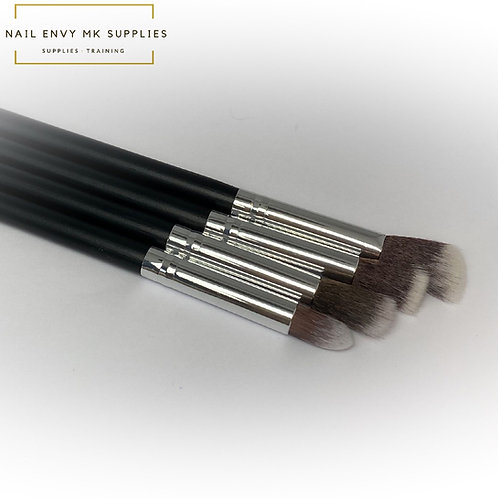 Art Brush Set - Black & Silver