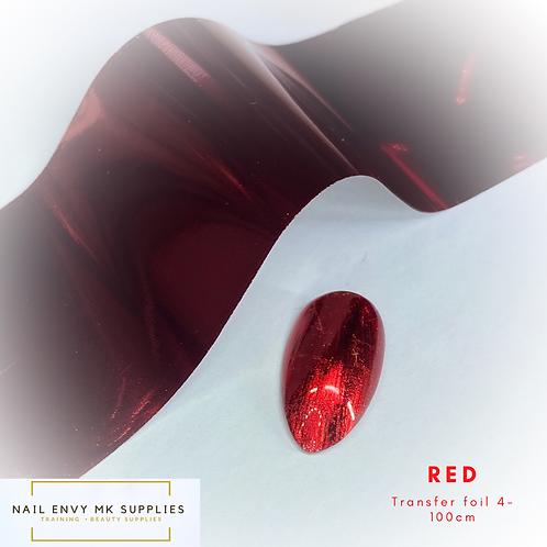 Foil - Red