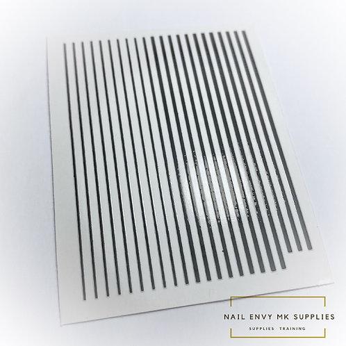 Black Design Tape Sheet