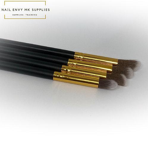 Art Brush Set - Black & Gold