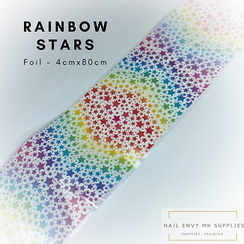 Foil - Rainbow Stars