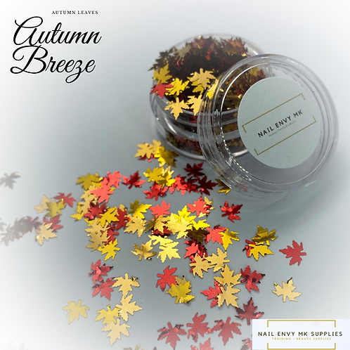 Autumn Breeze Leaves