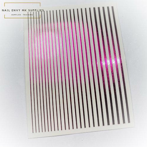 Fuchsia Design Tape Sheet