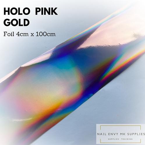 Foil - Holo Pink Gold