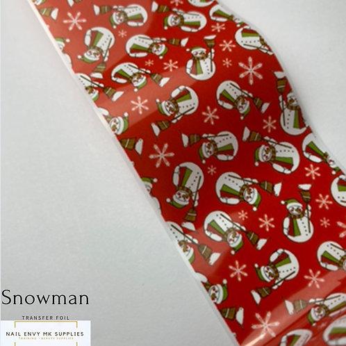 Snowman Foil