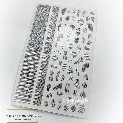 Snake Skin Stickers