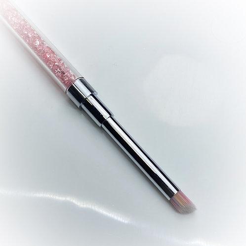 Pink Crystal Glitter Brush