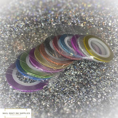 Glitter Tape 2mm width