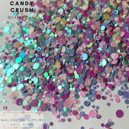 Candy Crush Glitter Dots