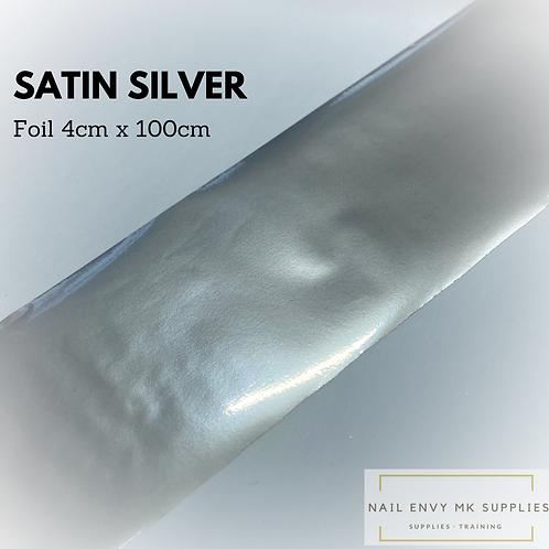Foil - Satin Silver