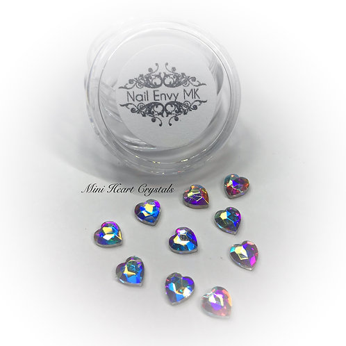 AB Mini Heart Crystals