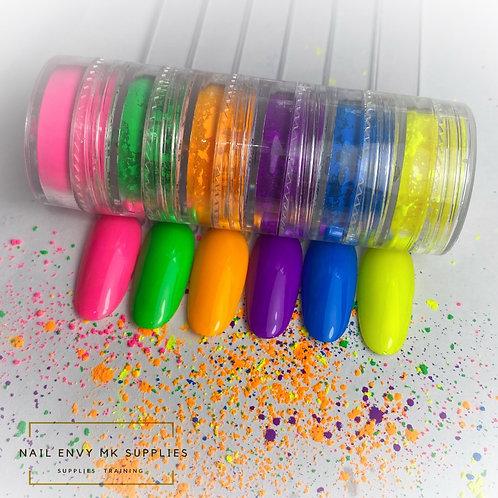 Neon Pigment 6 Stacker