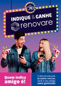 Folder Indique & Ganhe