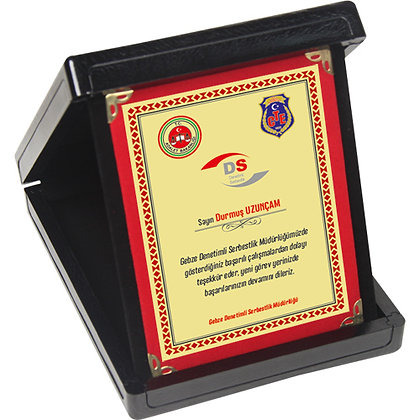 Kutulu Plaket KP01-S-2