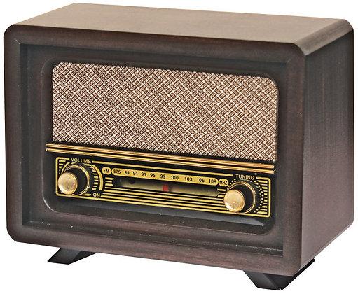 Beyoğlu Nostaljik Ahşap Yeni Analog Radyo