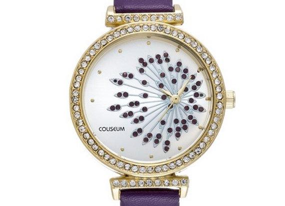 Coliseum CLS3652-BK-06 Kadın Kol Saati