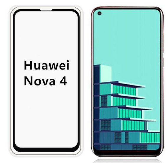 Huawei Nova 4 (5D Tempered) (Black)