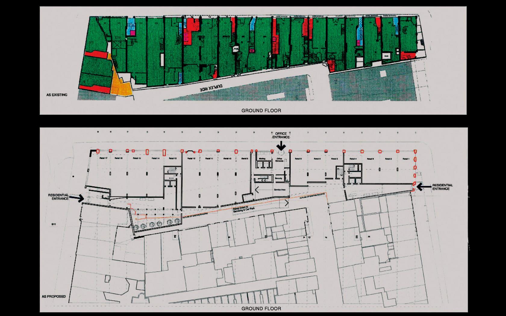 Architettura Knightsbridge London