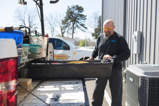 A Nelon-Cole technician is always prepared with the tools needed to get the job done quickly and efficiently, saving you time and money.