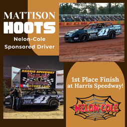 Nelon-Cole is proud to sponsor some of our community athletic teams - even some of our local race drivers!