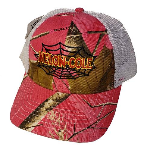 Nelon-Cole - Realtree Camo Hat - Pink