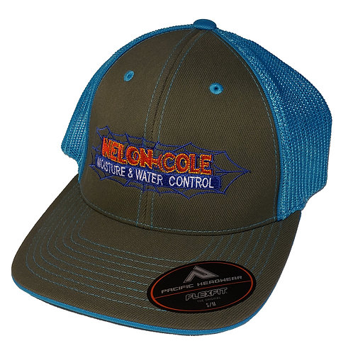 Nelon-Cole Moisture Control - Fitted - Grey and Blue