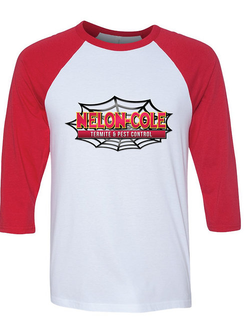 Nelon-Cole Pest Control - Raglan Softball Shirt