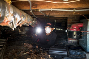 It takes a special kind of pride in your work to bravely work in dark, confining spaces.  We do the dirty work so that you don't have to worry about pest or moisture problems.