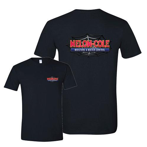 Nelon-Cole Moisture Control - Black T-Shirt