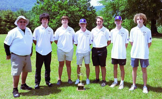 The Polk Golf Team, co-sponsored by Nelon-Cole.