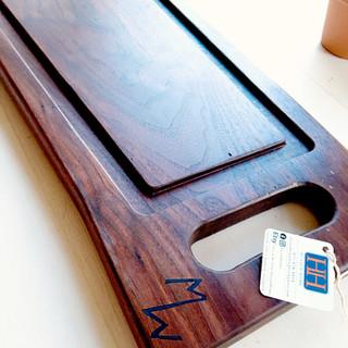 Black Walnut Cutting Board w Drip Trough and Custom Resin Inlay -2.jpg