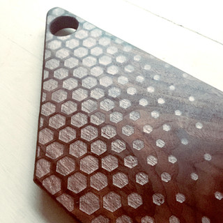 Black Walnut Hex Rose Gold Resin Inlay Serving-Charcuterie Board-2.jpg