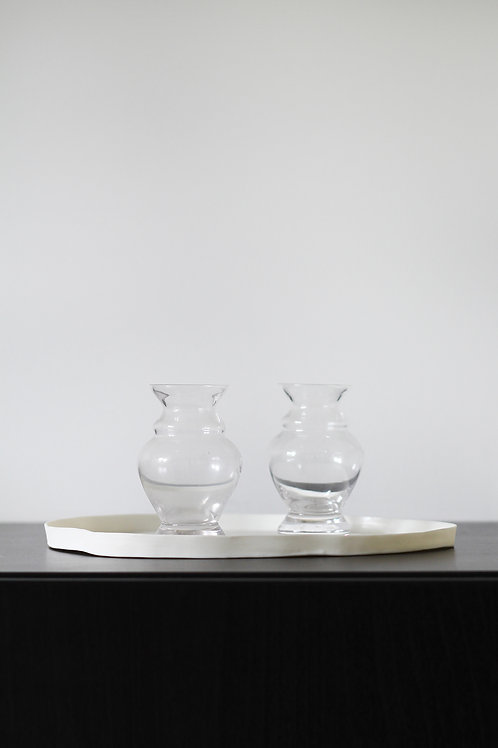 Mini clear vase 1
