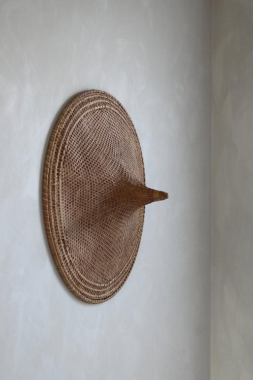 XL rieten hoed