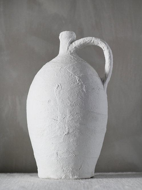 Plaster vase, small