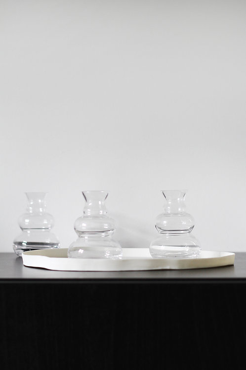 Mini clear vase 2