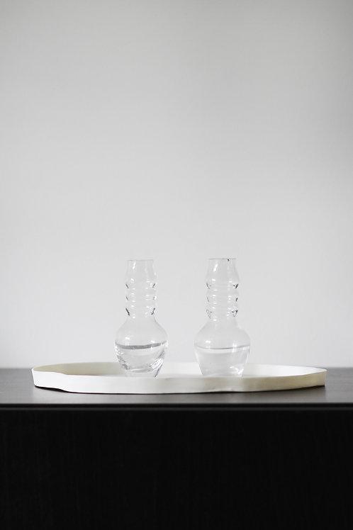 Mini clear vase 3