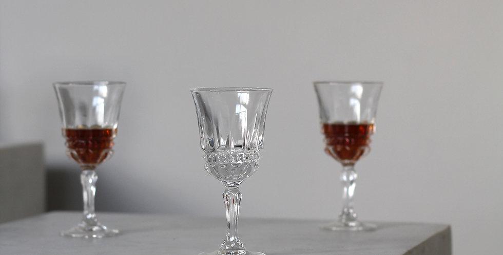 Vintage liqueur glass