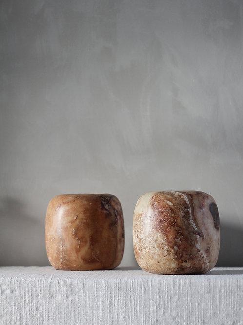 Alabaster waxholder XXL brown