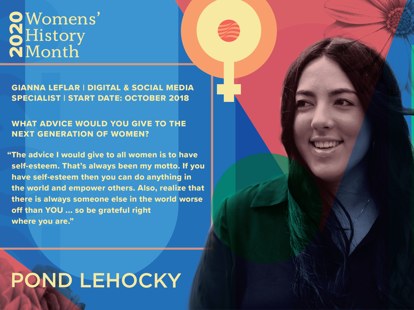 Women's History Month Feature.