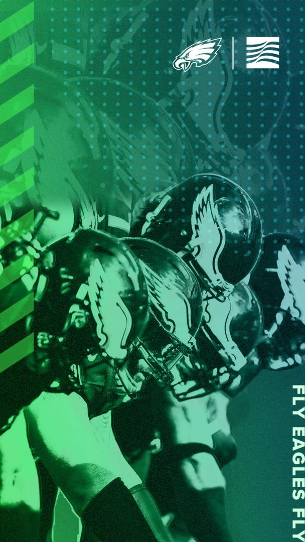 Eagles Phone Background Design