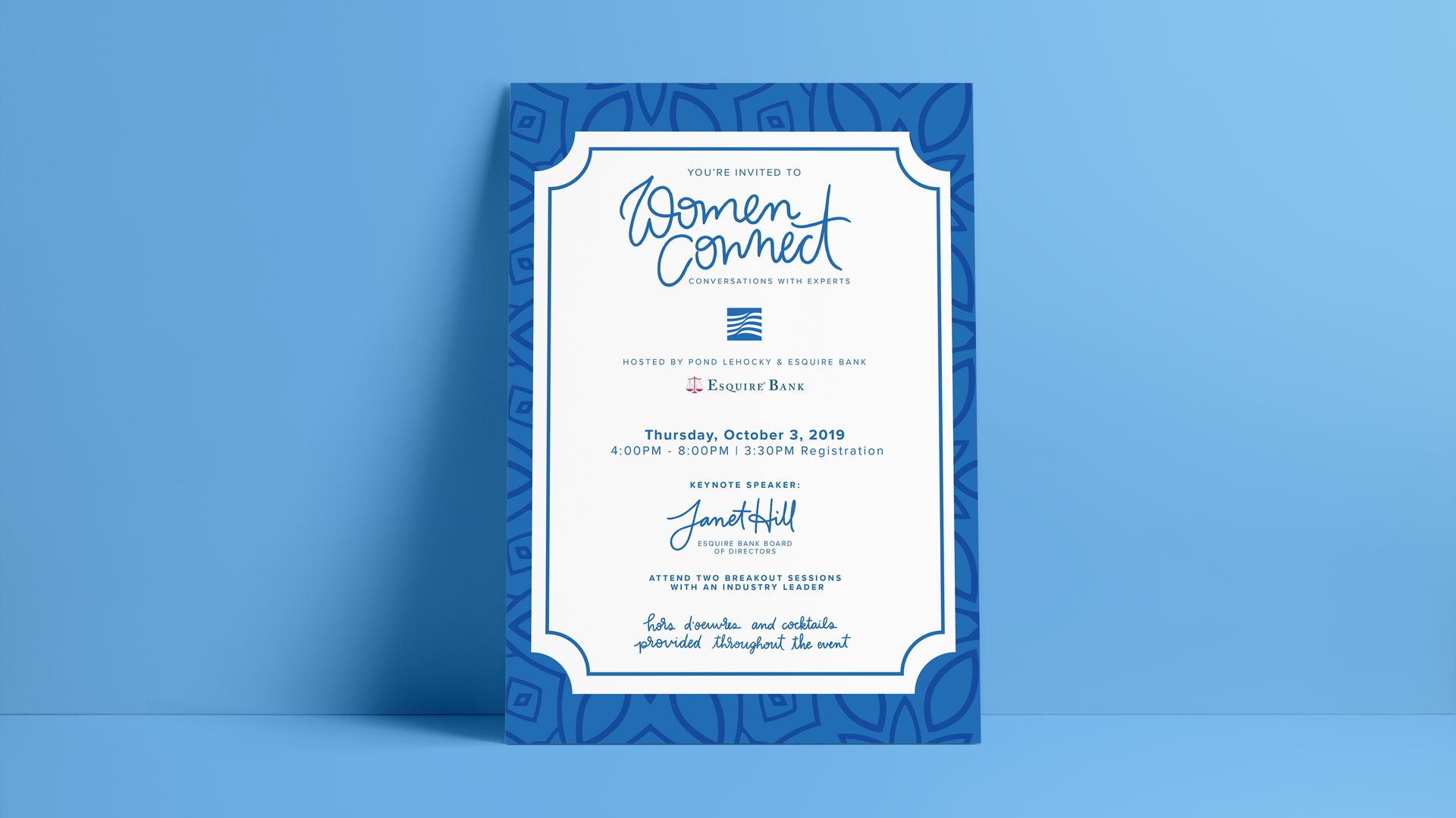 Women Connect Invite