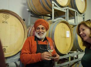 Meet Indian Australian winemaker couple Paramdeep and Nirmal!