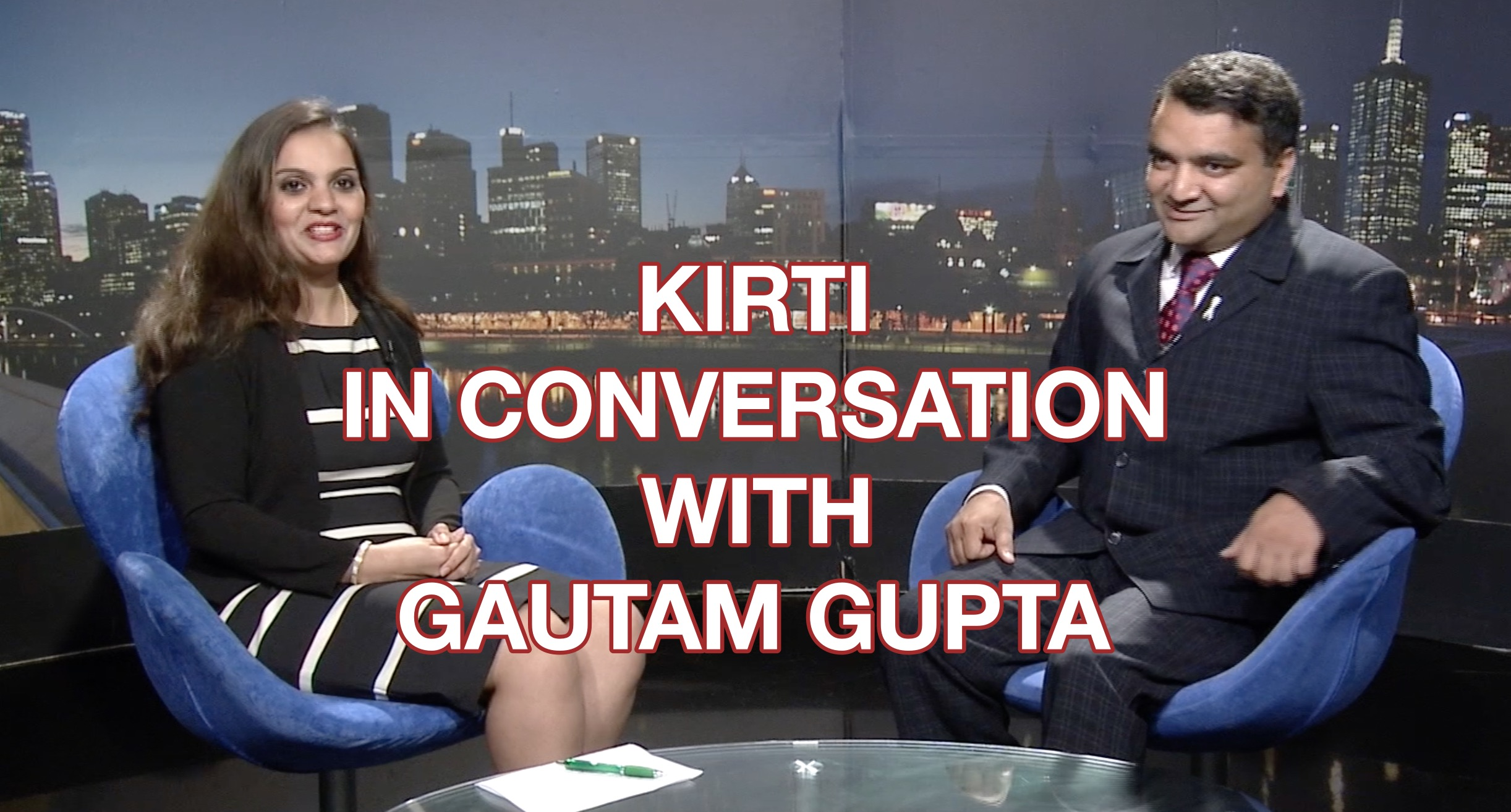 Kirti in Conversation with Gautam