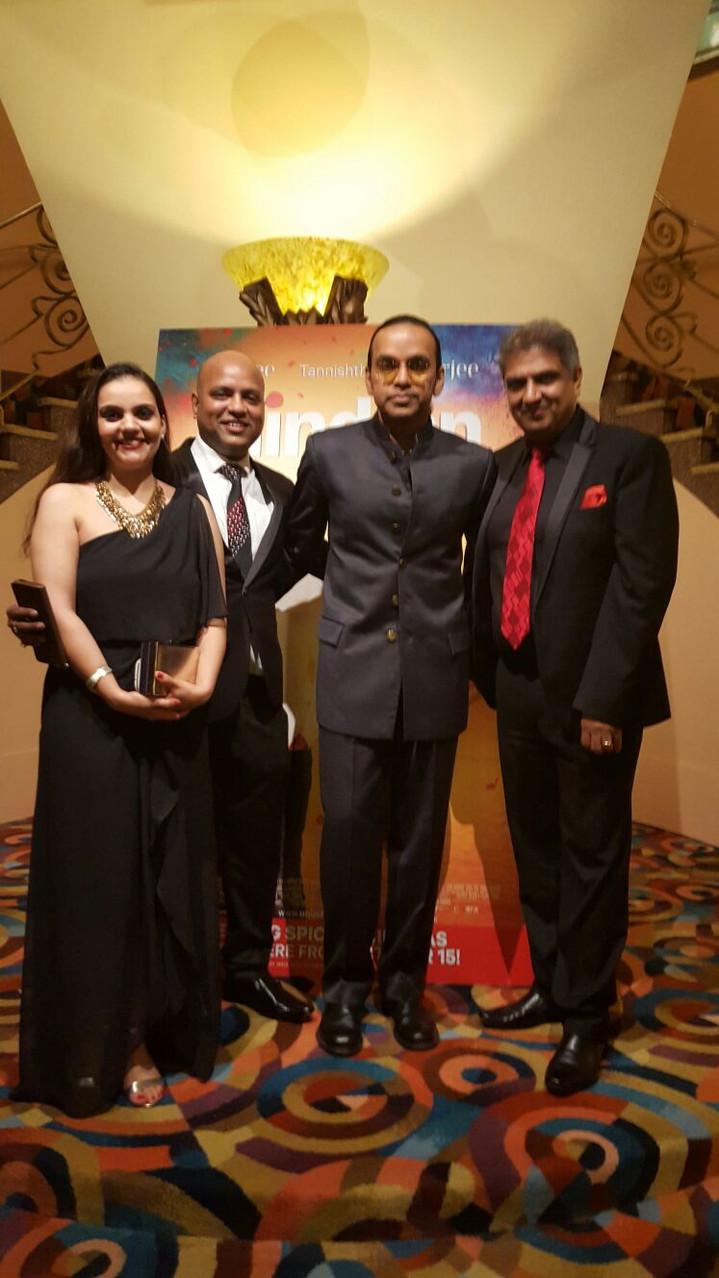 With Anupam Sharma (Director)