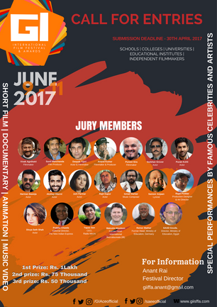 The First Global Impact International Film Festival to take Place in New Delhi from 9-11th June 2017