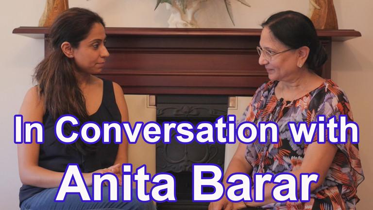 Param Garcha with Anita Brar